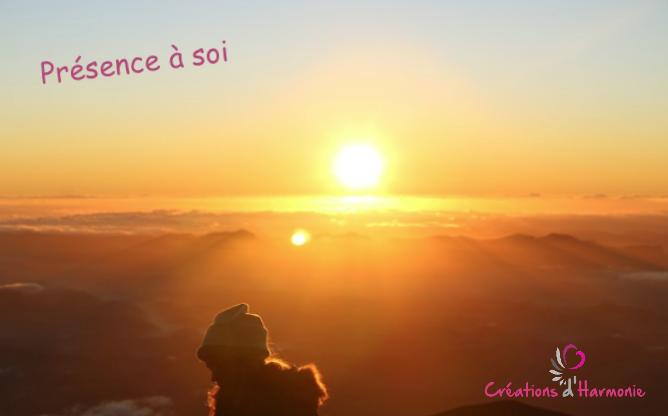 Gratitude créations d'harmonie sophrologie, présence à soi