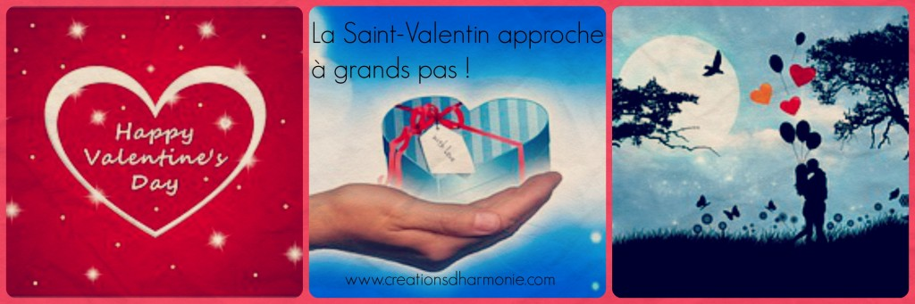 créationsdharmonie collage Saint-Valentin